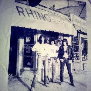 RHINO RECORDS Vintage Vinyl Record Label LP Sz M